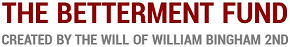 The Betterment Fund logo